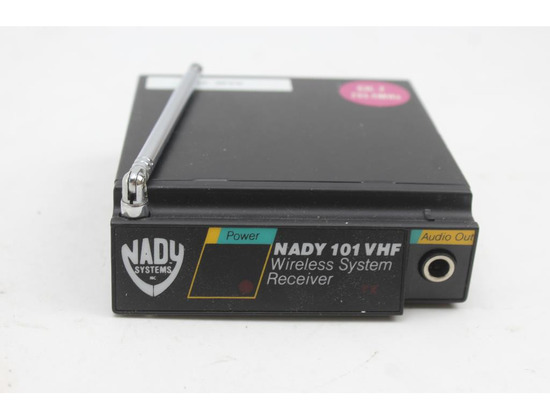 Nady 101 VHF Wireless System Receiver