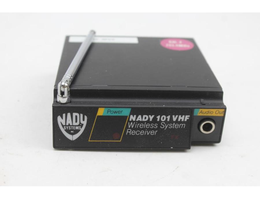 Nady 101 vhf wireless system receiver xl