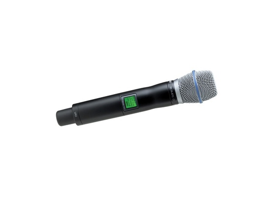 Shure UR2/BETA87C with Beta 87C Cardioid Microphone
