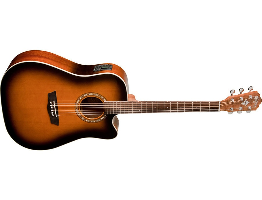 Washburn WD7SCEATB Harvest Series Acoustic Guitar