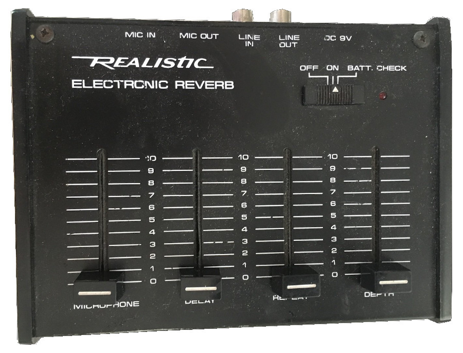 Realistic Electronic Reverb