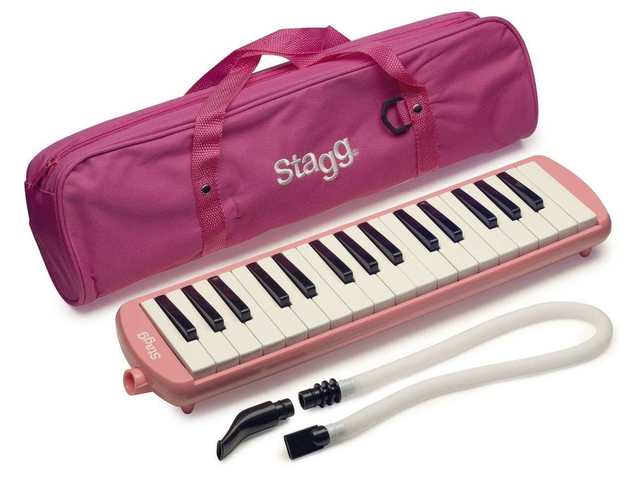 Stagg Melosta 32-Key Melodica Pink