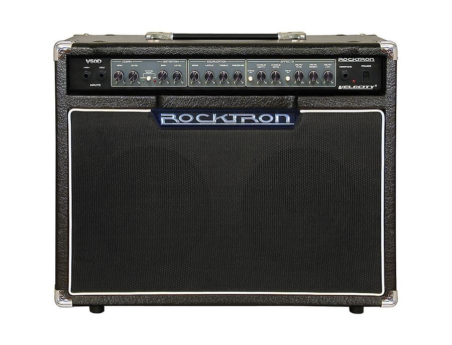 Rocktron V50D Velocity 50W Guitar Combo Amp