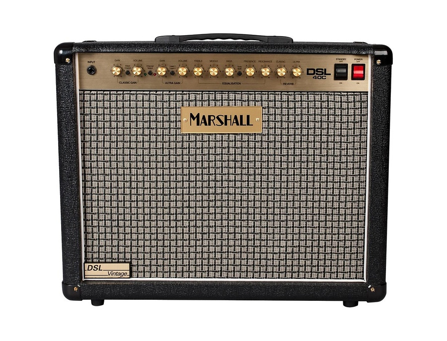 Marshall DSL40C Limited Edition Vintage 40W 1x12 Tube Guitar Combo Amp