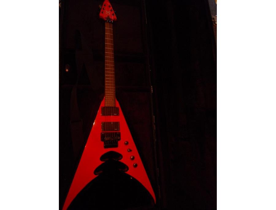 Moser Custom Shop Red V Guitar