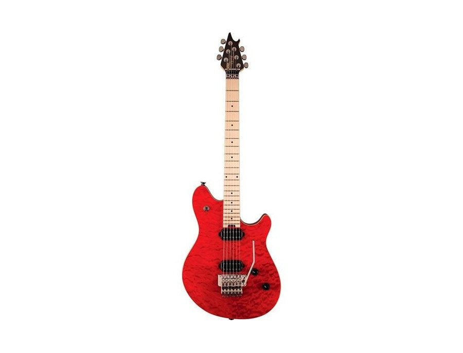 EVH Wolfgang Standard Trans Red Quilt with Floyd Rose