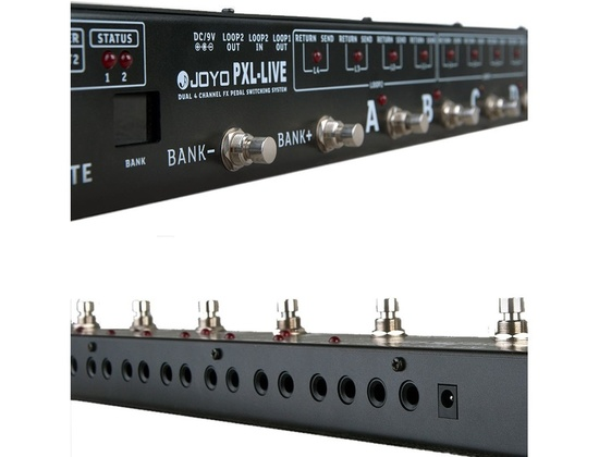 Joyo PXL Live Guitar Effect Pedal Controller