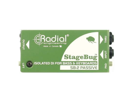 Radial StageBug SB-2 Passive Direct Box