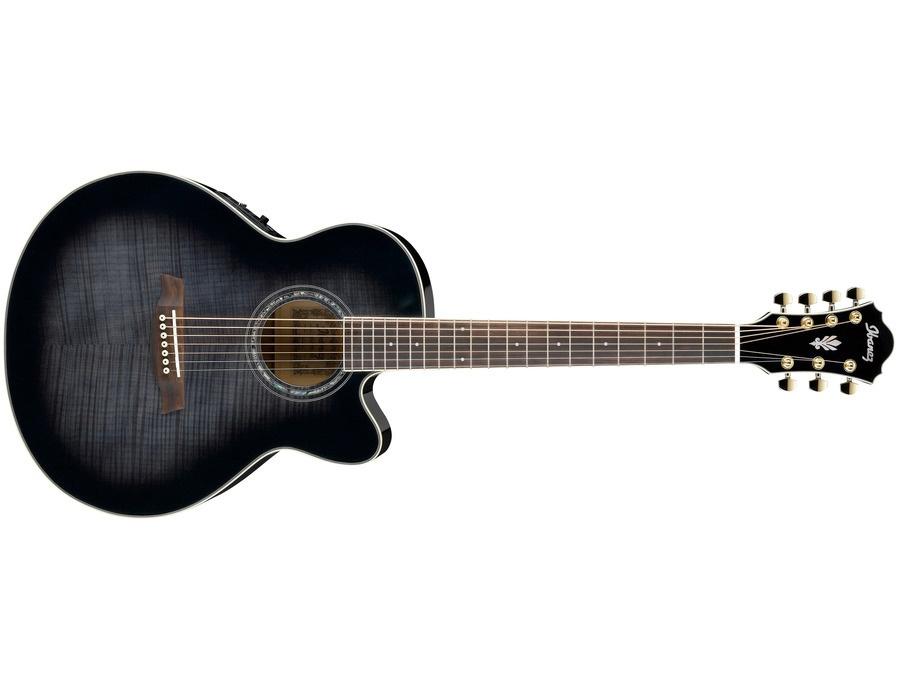 Ibanez AEL207E-TKS 7-String Acoustic-Electric Guitar