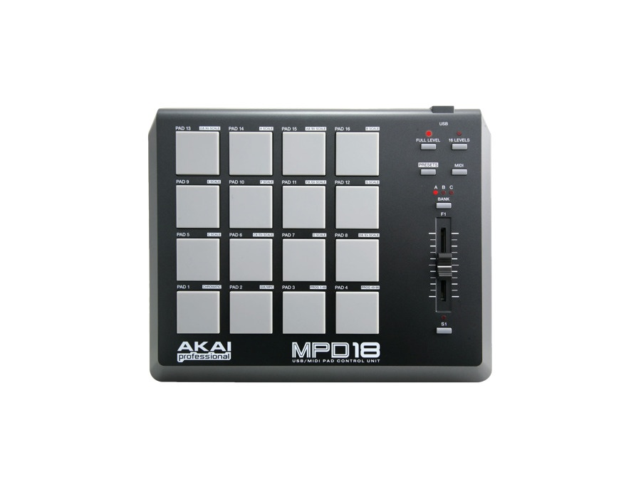 Akai mpd18 compact pad controller xl