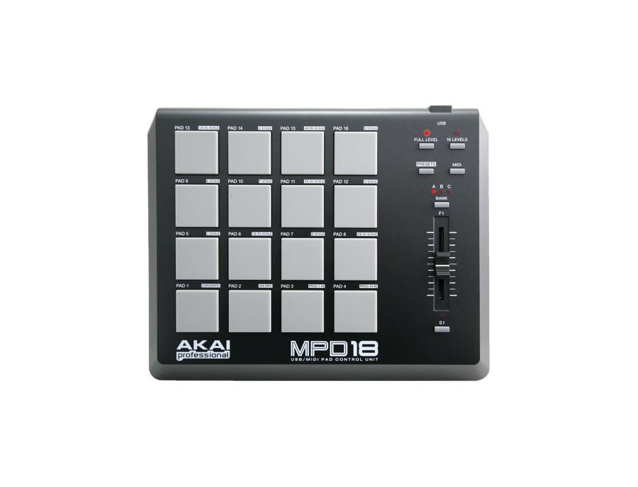 Akai MPD18 Compact Pad Controller