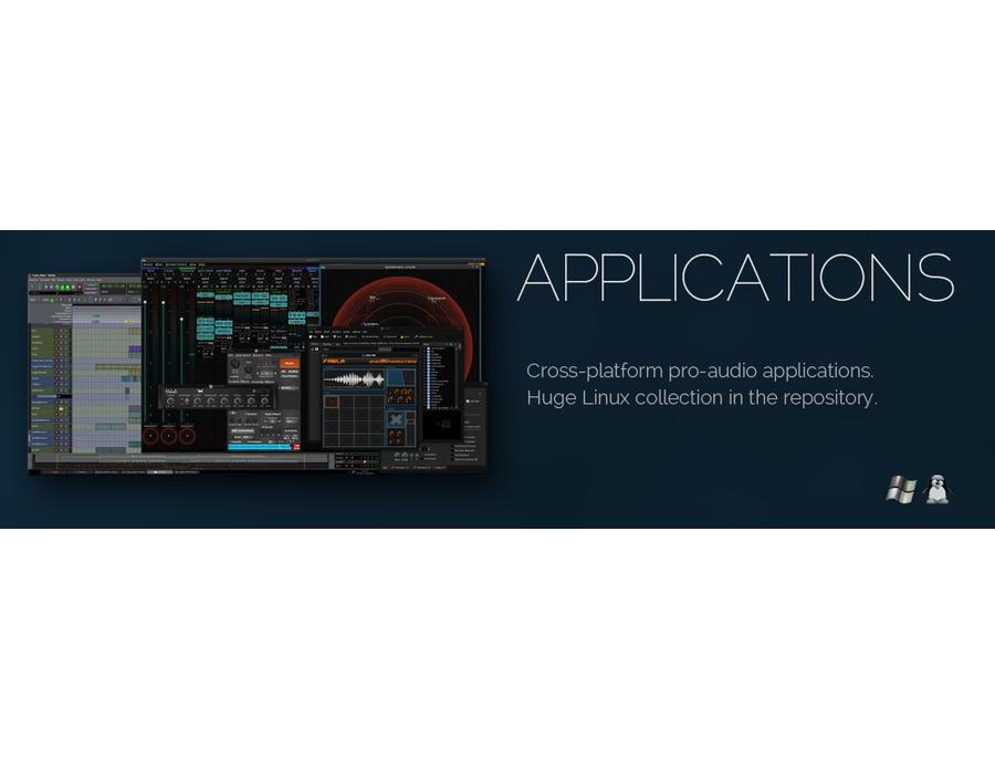 KXStudio Linux OS (Optimized for professional audio production)