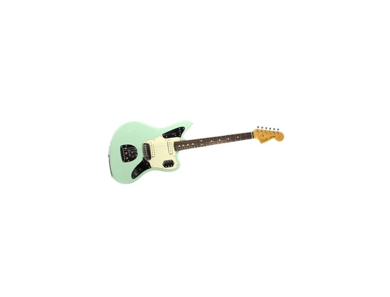 Fender Vintage Jaguar Electric Guitar Seafoam Green