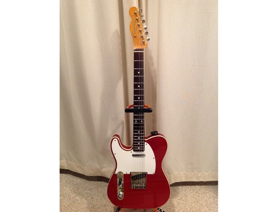 1984 Fender MIJ Left Handed '62 re-issue Telecaster Candy Apple Red