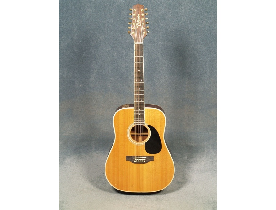 1985 Takamine Left Handed EF400S Acoustic Electric 12 String