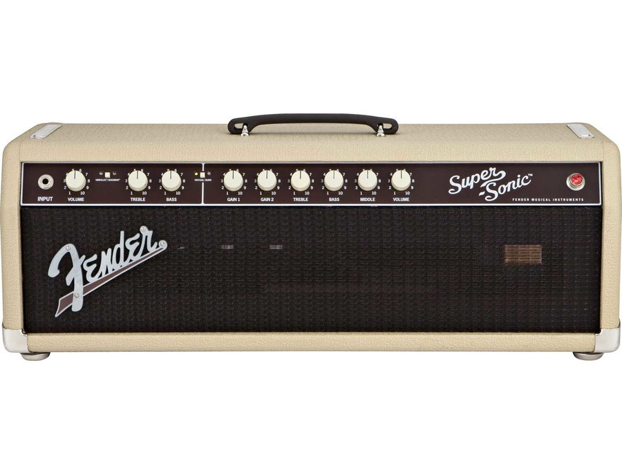 Fender Supersonic 60w Head (Blonde + Oxblood)