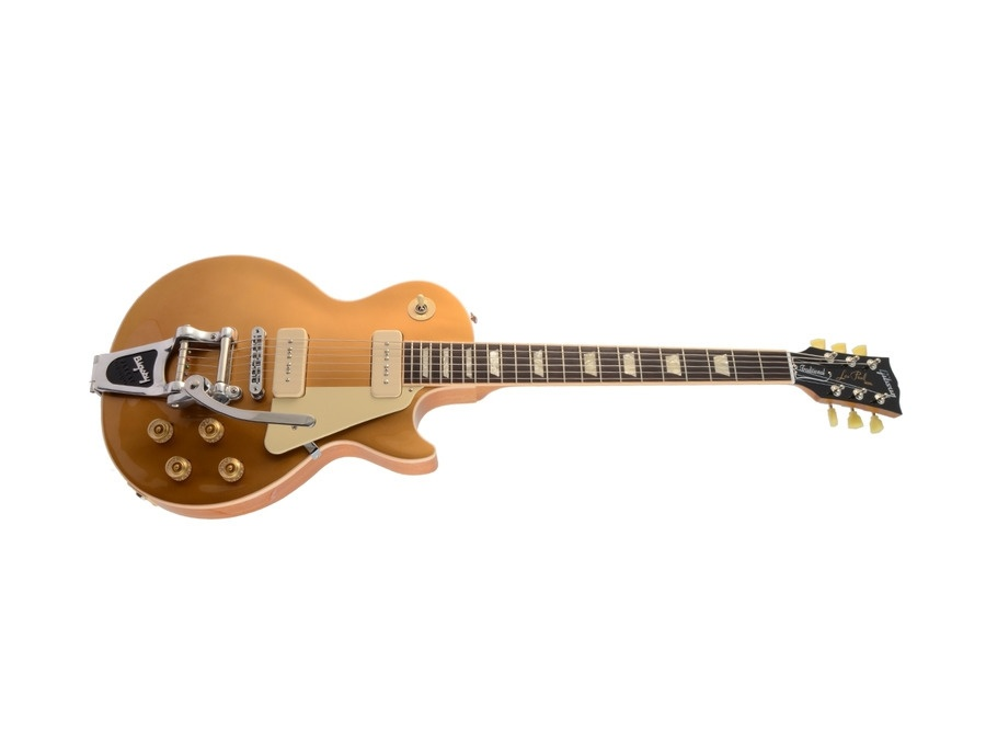 Gibson Les Paul Traditional Goldtop P90 Bigsby