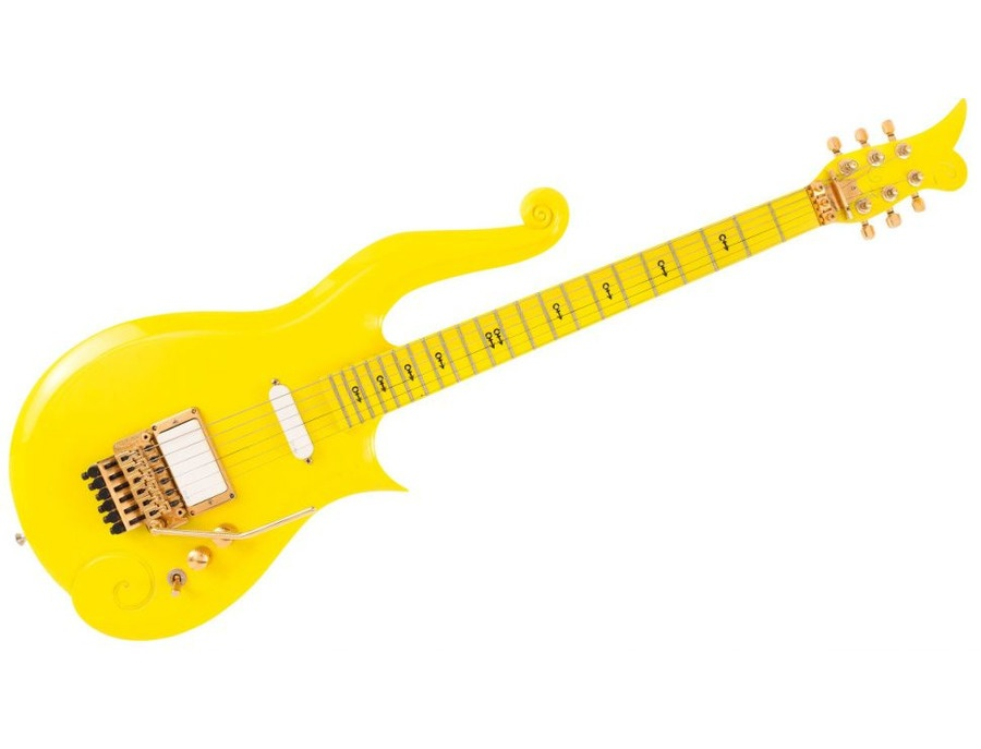 "Prince's ""Yellow Cloud"" Custom Guitar"