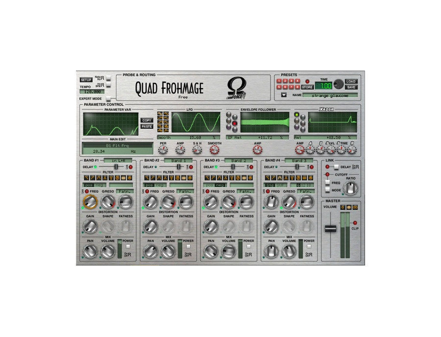 Ohm Force Quad Frohmage Filter