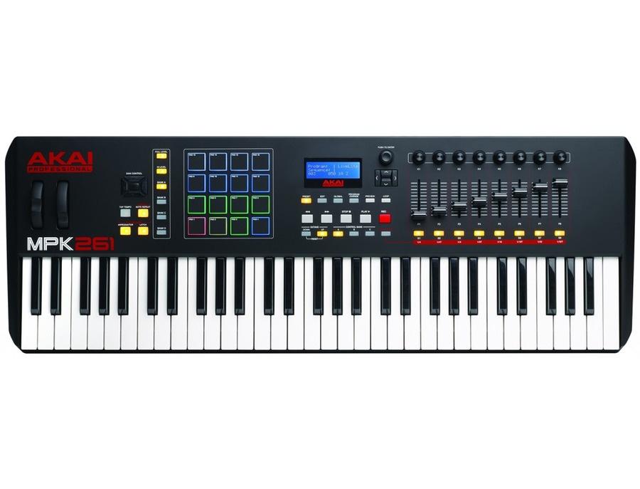 Akai mpk261 61 key performance keyboard controller xl