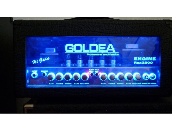 Goldea Rex 320 All Tube 15 Watts Guitar Head