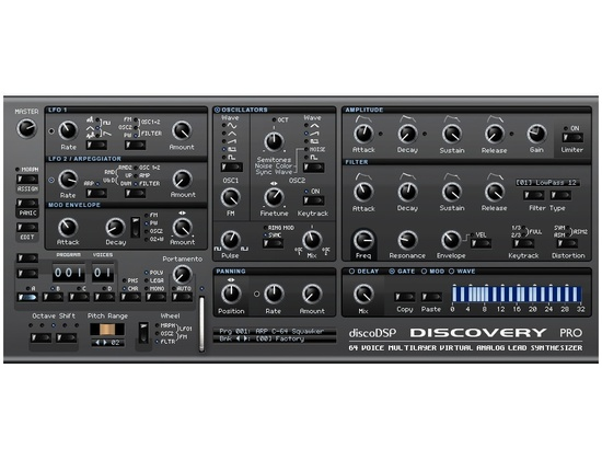 Disco DSP Discovery Pro