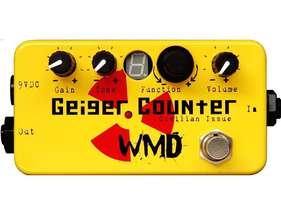 WMD Geiger Counter Civilian Issue Destruction Pedal