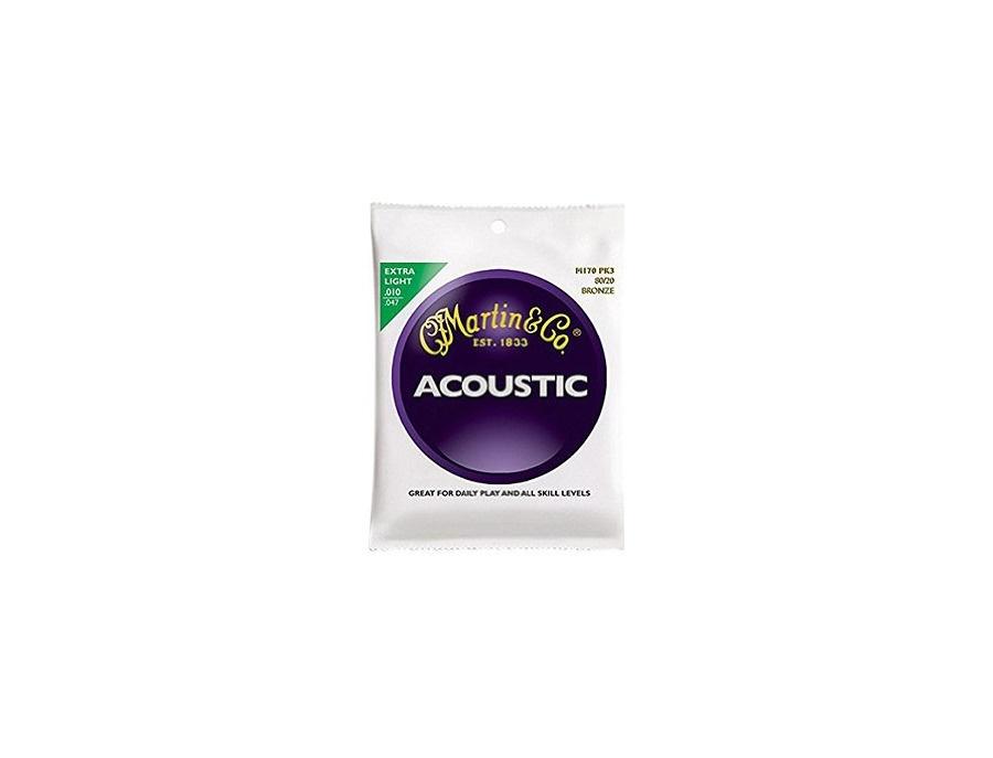 Martin Acoustic Guitar Strings, Extra Light