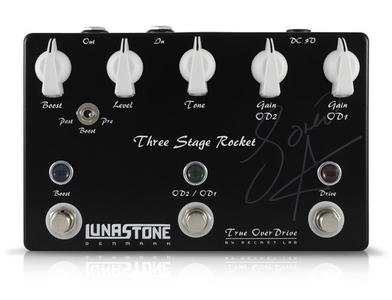 Lunastone Three Stage Rocket Overdrive