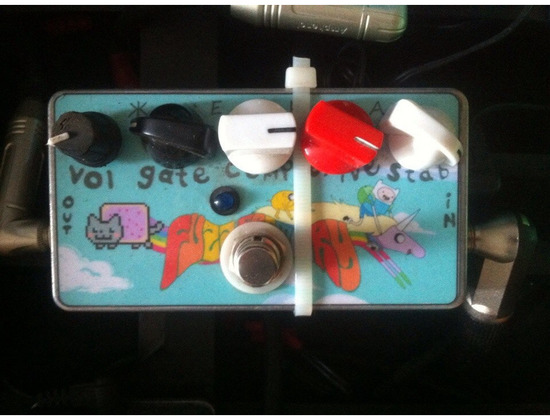 ZVex Fuzz Factory Clone by CRAB