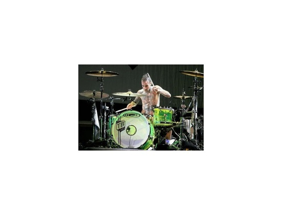 Orange County Drums and Percussion Type 4 Glowstick Green Acrylic