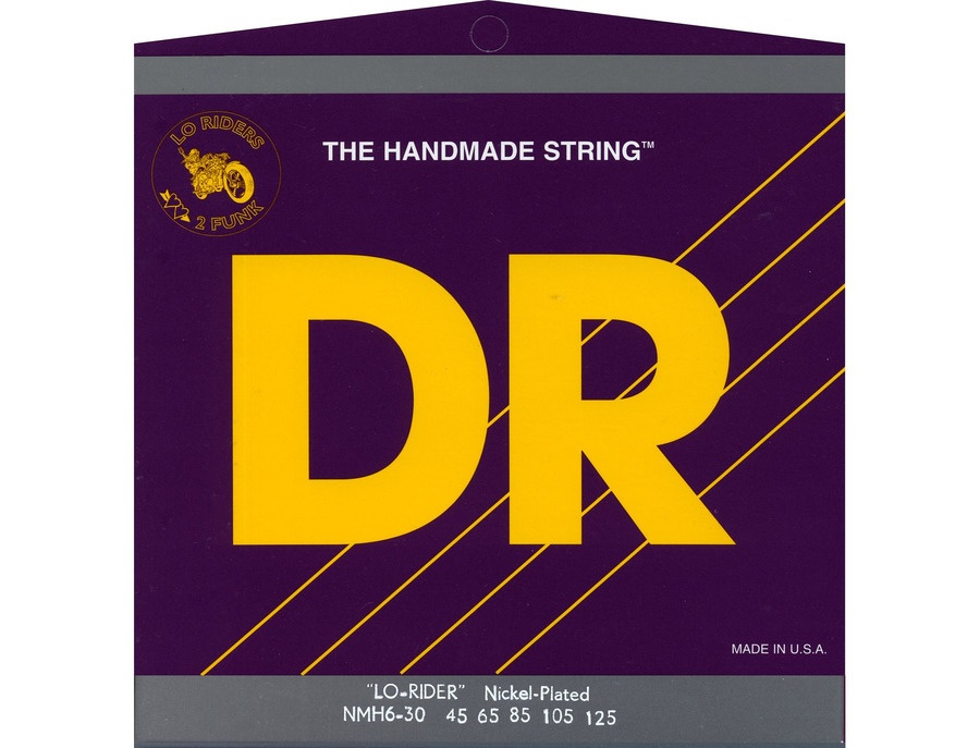 DR Strings MH6-30 Lo-Rider Bass Strings