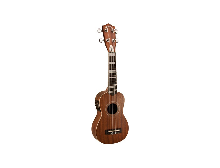 Lanikai Soprano All-Mahogany Acoustic-Electric Ukulele with USB