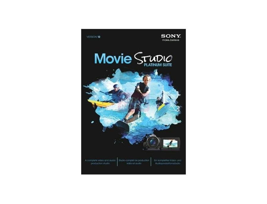 Sony Movie Studio Platinum Suite 12