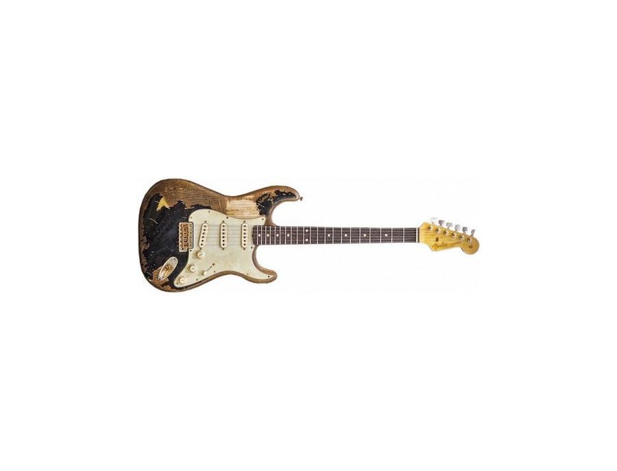 """Fender John Mayer """"The Black One"""" Stratocaster"""