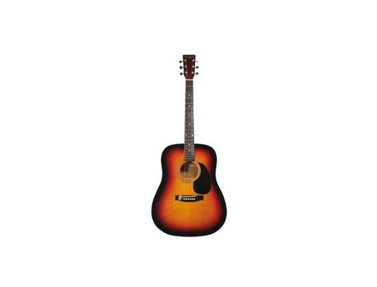 Martin Smith Sunburst Acoustic Guitar