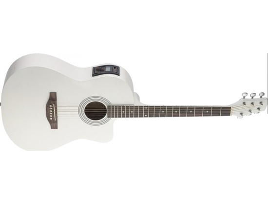Stagg SWA6CETU-WH White Electro-Acoustic
