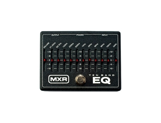 MXR M-108 Ten Band Graphic Equalizer Pedal