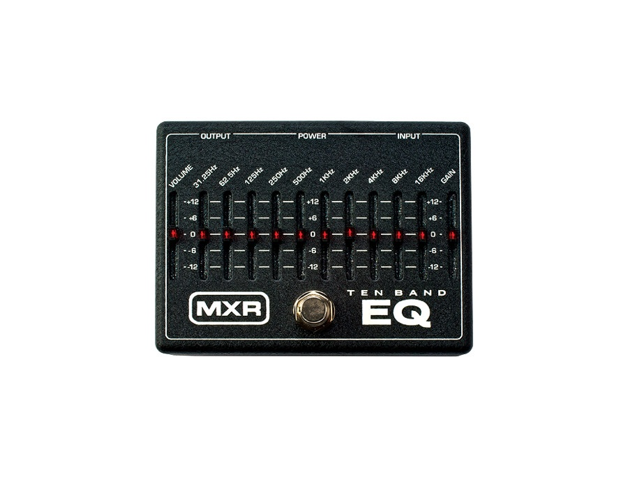 Mxr m 108 ten band graphic equalizer pedal xl