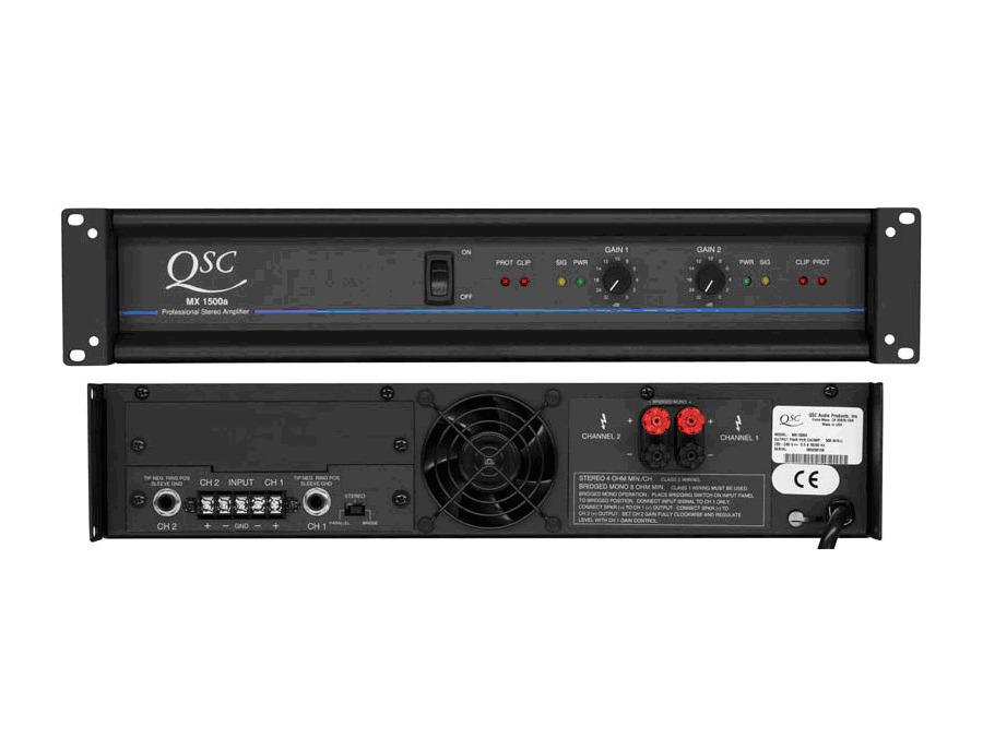QSC mx 1500a