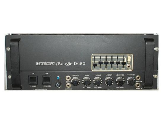 Mesa Boogie D-180, 200 watt All Tube Bass Amplifier
