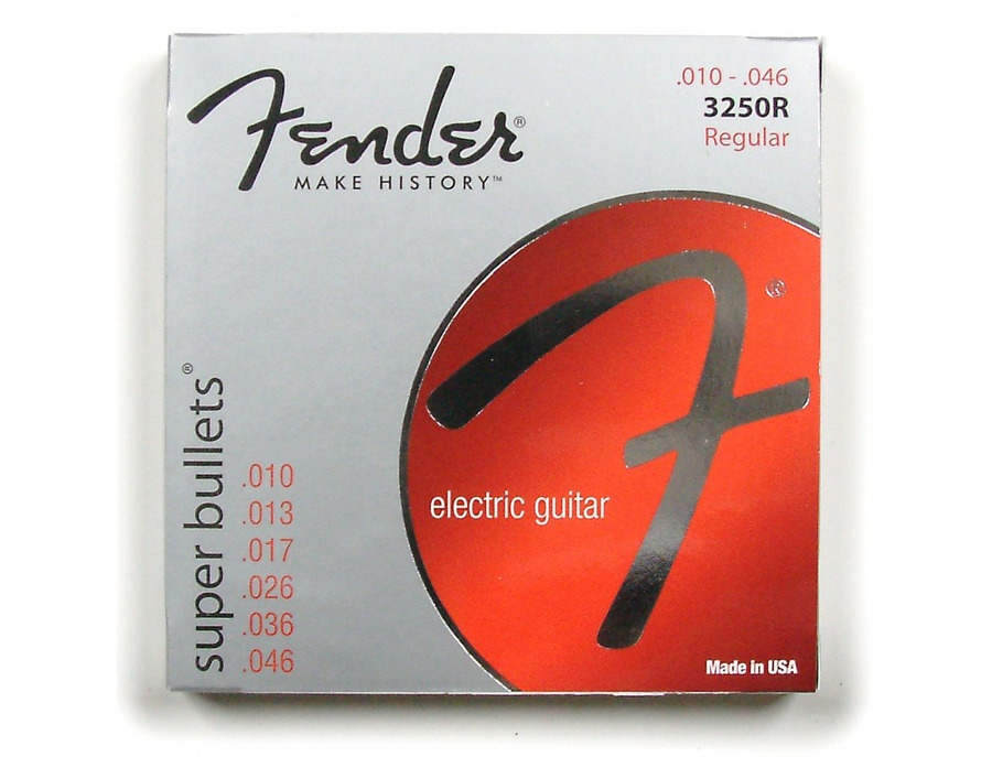 Fender 3250R Super Bullets Srings