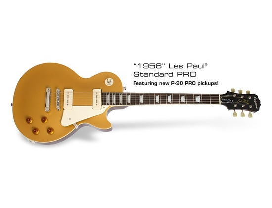 Epiphone 1956 Les Paul Standard PRO Goldtop