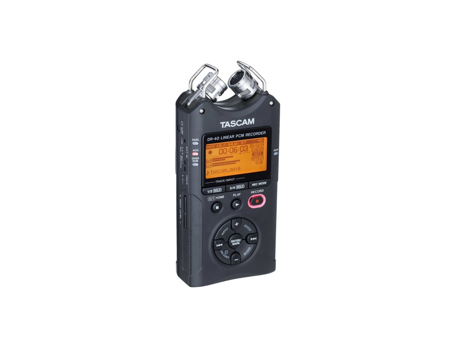Tascam dr 40 4 track portable digital recorder xl