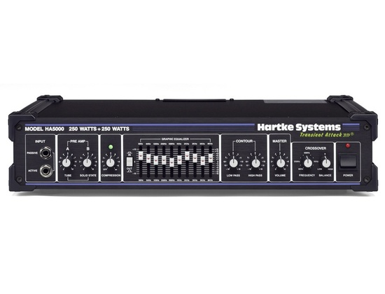 Hartke HA5000 transient attack