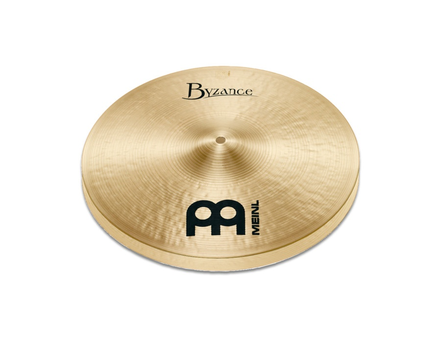 "Meinl Byzance Traditional 15"" Medium Hi-Hats"