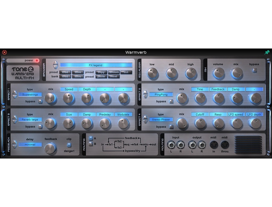 Tone 2 Warmverb Multi-FX
