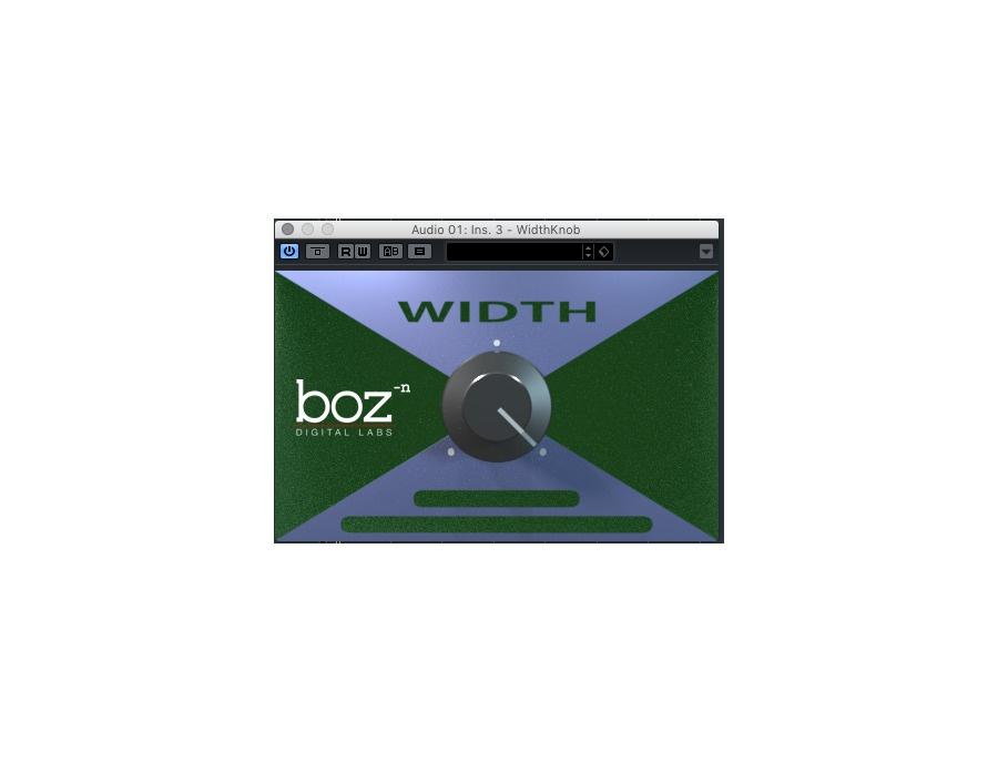 Boz digital labs width knob xl
