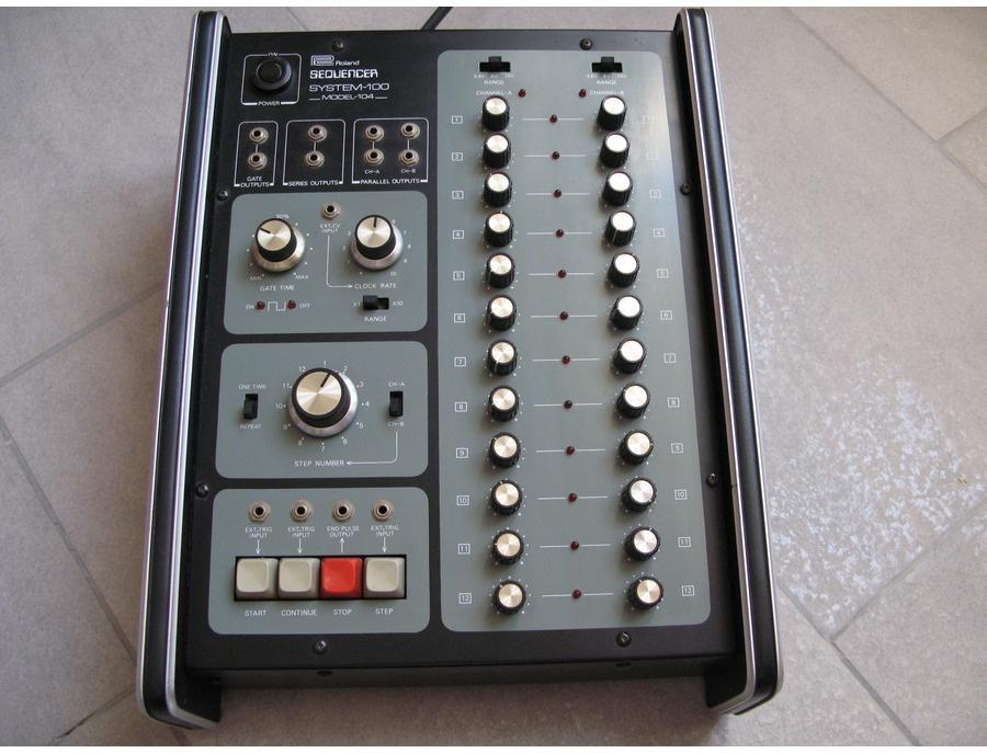 Roland system 104 sequencer xl