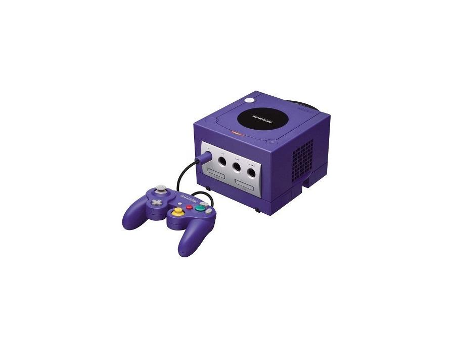 Nintendo gamecube purple xl